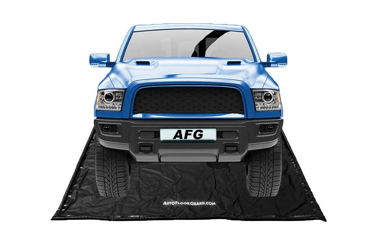 Floor Defender Garage Containment Mats Car Size 79 x 16