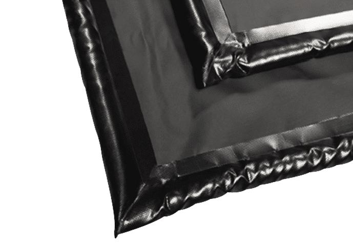 Heat-sealed watertight seams - garage floor containment mat - AutoFloorGuard reviews