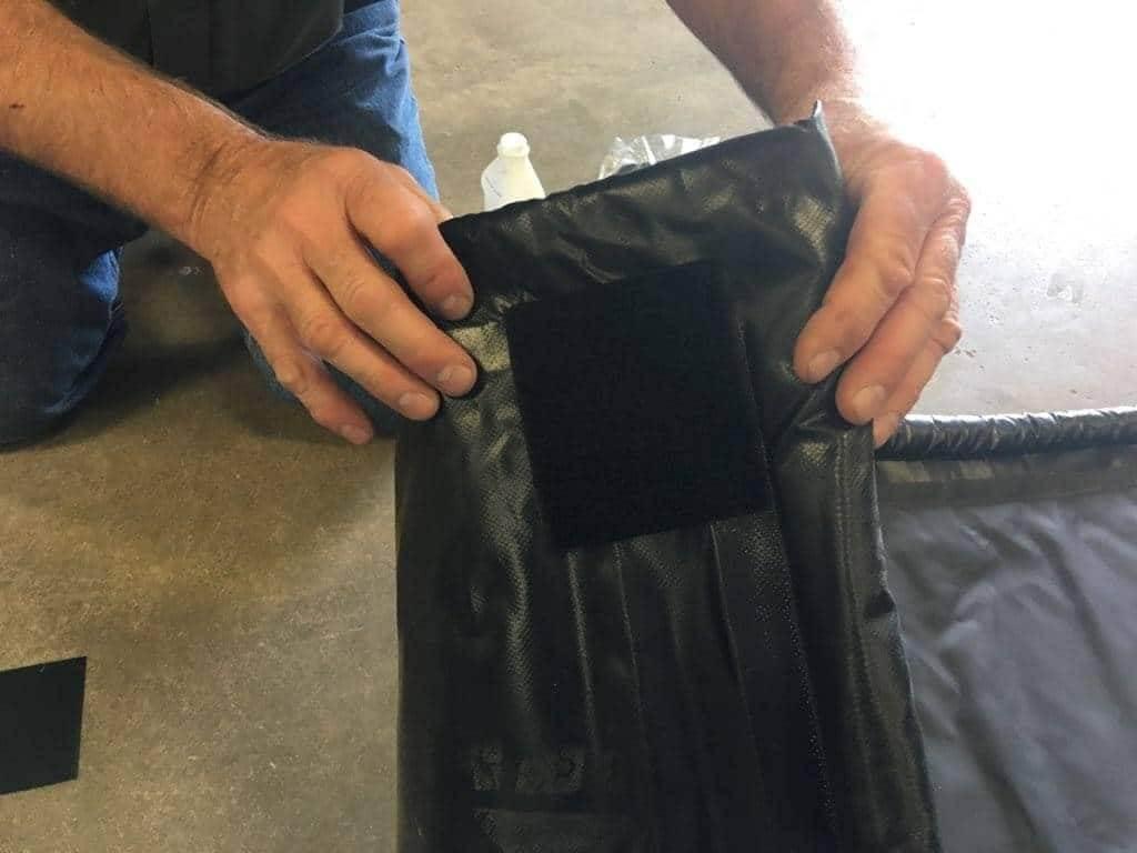 Garage containment floor mats - Stay-Put Corners - AutoFloorGuard