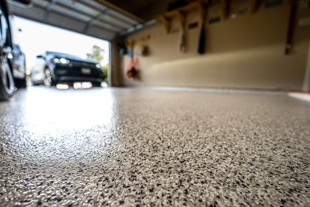 measure garage floor - garage containment mat - AutoFloorGuard